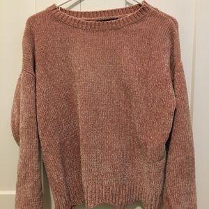 Love Tree Pink Sweater Women's size S